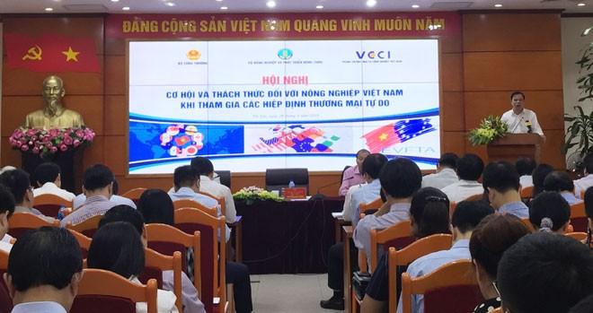 Identifican oportunidades y desafíos para la agricultura vietnamita derivados de tratados de libre comercio - ảnh 1