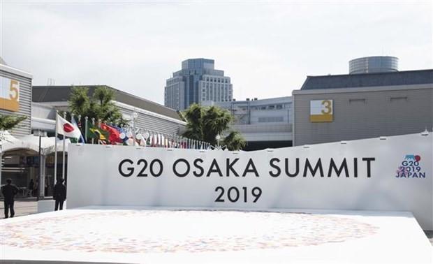 Inauguran Cumbre del G20 en Japón - ảnh 1