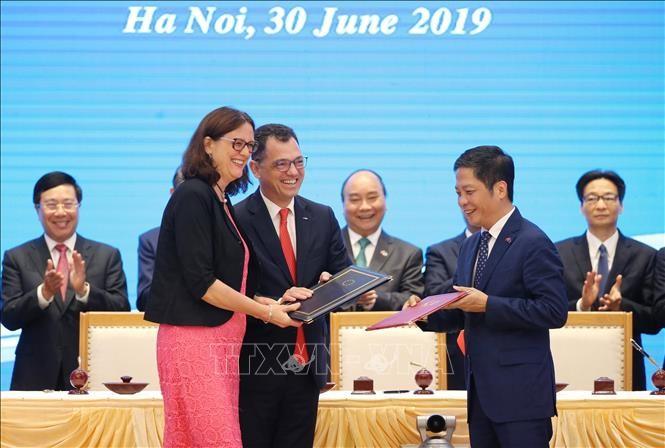 Aseguran que Asean se beneficiará de acuerdos entre Vietnam y UE - ảnh 1
