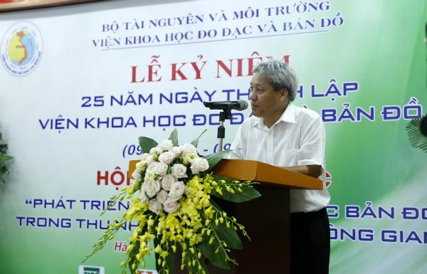 Urgen mayor avance del Instituto de Geodesia y Cartografía de Vietnam - ảnh 1
