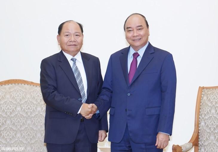 Ponderan cooperación en asuntos interiores entre Vietnam y Laos - ảnh 1