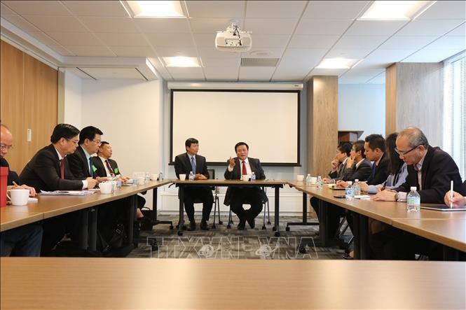 Intercambian resultados de estudios políticos Vietnam y Estados Unidos - ảnh 1
