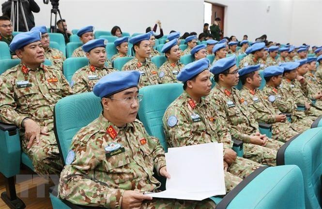 Vietnam participa en misiones de paz de la ONU con segundo hospital de campaña - ảnh 1