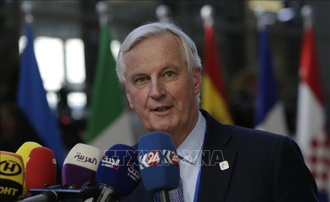 Jefe negociador de UE denuncia las demandas por parte del Reino Unido sobre Brexit - ảnh 1