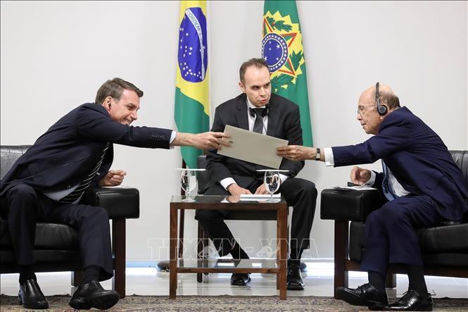 Brasil y Estados Unidos inician negociaciones para un acuerdo de libre comercio - ảnh 1