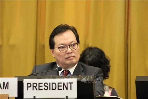 Vietnam exhorta a terminar carrera armamentista y fomentar desarme nuclear  - ảnh 1