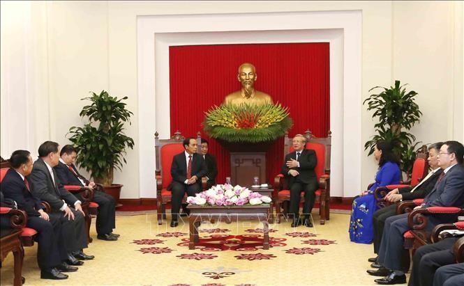Vietnam y Laos afianzan la cooperación en inspección - ảnh 1