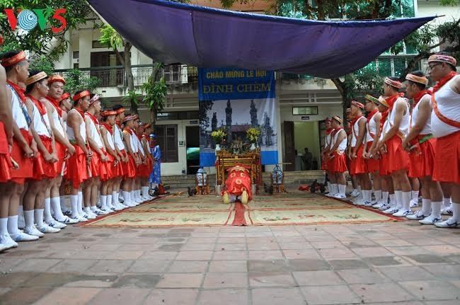 Độc đáo lễ rước nước hội đình Chèm - ảnh 9