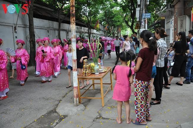 Độc đáo lễ rước nước hội đình Chèm - ảnh 17