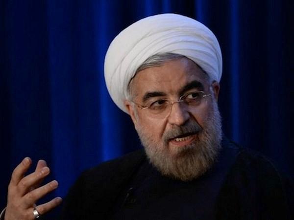 ประธานาธิบดีอิหร่านเรียกร้องให้มีการเจรจาอย่างยุติธรรมและมีลักษณะที่สร้างสรรค์ - ảnh 1