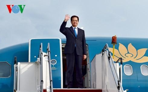 นายกรัฐมนตรีเหงียนเติ๊นหยุงเข้าร่วมการประชุมผู้นำแม่โขง – ญี่ปุ่นครั้งที่ 7 - ảnh 1