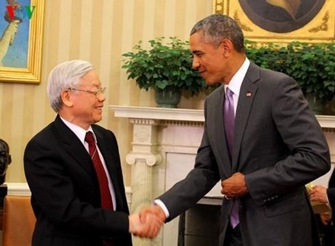 การเยือนครั้งประวัติศาสตร์ในความสัมพันธ์ระหว่างเวียดนามกับสหรัฐ - ảnh 1