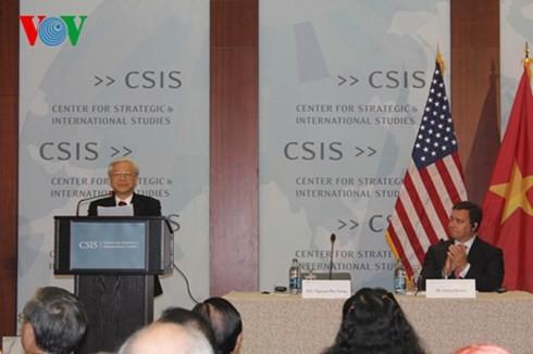 การเยือนครั้งประวัติศาสตร์ในความสัมพันธ์ระหว่างเวียดนามกับสหรัฐ - ảnh 2