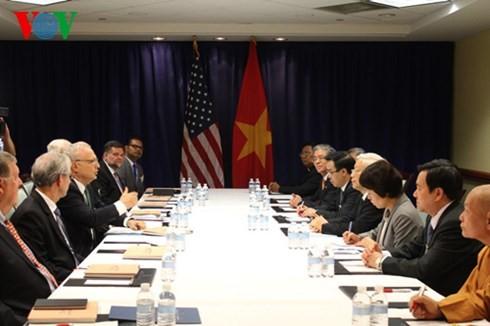 การเยือนครั้งประวัติศาสตร์ในความสัมพันธ์ระหว่างเวียดนามกับสหรัฐ - ảnh 3