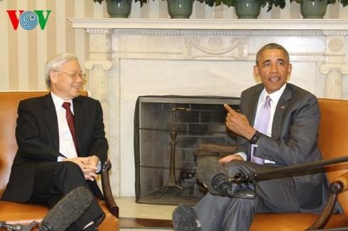 การเยือนสหรัฐของเลขาธิการใหญ่เวียดนามได้รับความสนใจจากชาวอเมริกัน - ảnh 1