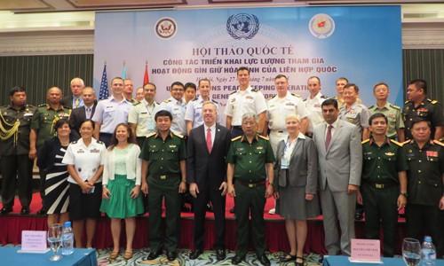 เวียดนามมีความรับผิดชอบเมื่อเข้าร่วมกองกำลังรักษาสันติภาพของสหประชาชาติ - ảnh 1