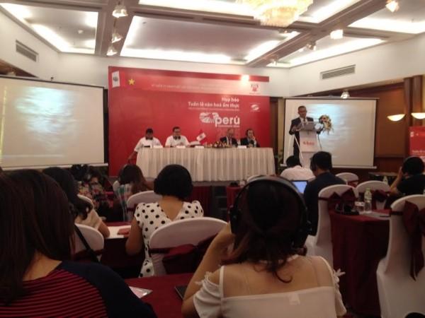สัปดาห์วัฒนธรรมและอาหารเปรูครั้งแรก ณ เวียดนาม - ảnh 1