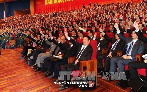 การประชุมสมัชชาใหญ่พรรคคอมมิวนิสต์เวียดนามสมัยที่ 12 : เน้นถึงการสร้างสรรค์พรรค - ảnh 1