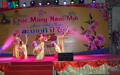 ชาวเวียดนามที่อาศัยในต่างประเทศฉลองตรุษเต๊ต - ảnh 1
