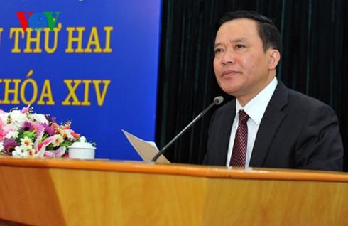แนวร่วมปิตุภูมิเวียดนามตรวจสอบงานด้านการเลือกตั้งอย่างเข้มงวด - ảnh 2