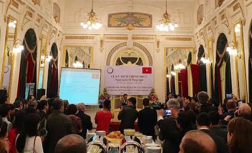 กิจกรรมฉลองวันภาษาฝรั่งเศสสากล 20 มีนาคม ณ กรุงฮานอย - ảnh 1