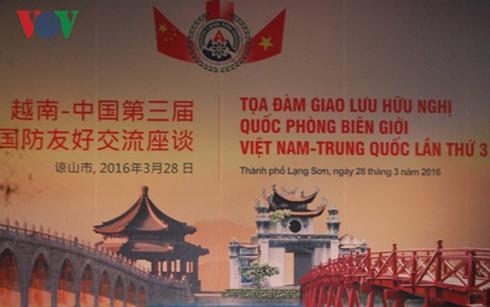 ขยายความสัมพันธ์มิตรภาพตามแนวชายแดนระหว่างเวียดนามกับจีน - ảnh 1