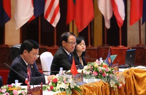 เวียดนามมีส่วนร่วมอย่างเข้มแข็งต่อความสำเร็จของการประชุมเอเอ็มเอ็ม 49 - ảnh 1