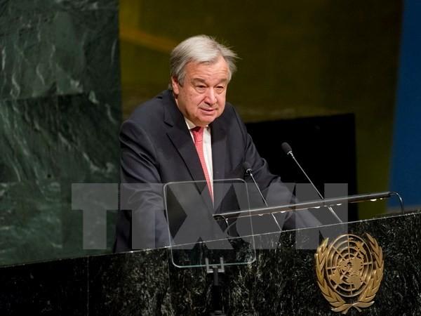 สหประชาชาติประณามการตัดสินใจก่อสร้างเขตตั้งถิ่นฐานของอิสราเอล - ảnh 1