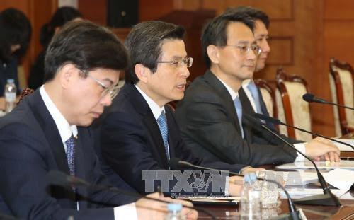 สาธารณรัฐเกาหลีเตือนว่า จะตอบโต้หากเปียงยางมีปฏิบัติการที่ยั่วยุอีก - ảnh 1