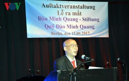 Lễ ra mắt Quỹ khuyến học và bảo tồn dân ca Việt - Đức - ảnh 1