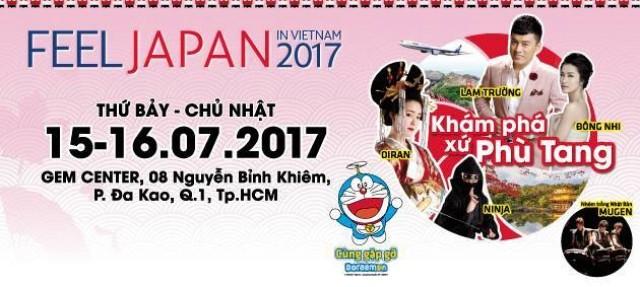 พิธีเปิดงาน Feel Japan in Viet Nam 2017 ณ นครโฮจิมินห์ - ảnh 1