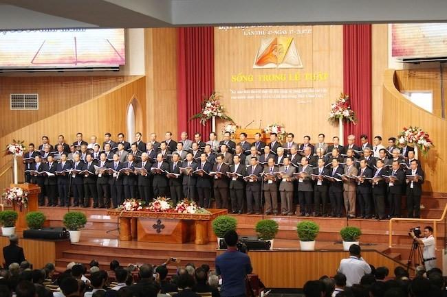 การประชุมสมัชชาของสมาคมคริสต์ศาสนานิกายโปรเตสแต๊นต์ภาคใต้เวียดนาม - ảnh 1