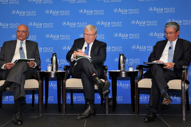 เอกอัครราชทูตเวียดนามประจำสหรัฐเข้าร่วมการเสวนาเกี่ยวกับโครงสร้างความมั่นคงเอเชีย - แปซิฟิก - ảnh 1