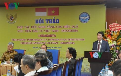 ยกระดับประสิทธิภาพของความร่วมมือและการลงทุนระหว่างเวียดนามกับอินโดนีเซีย - ảnh 1