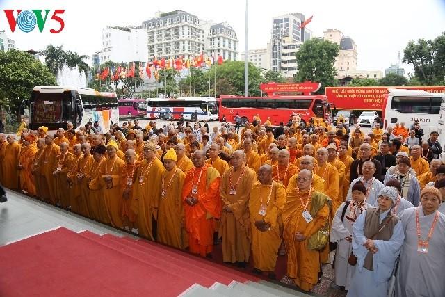 การประชุมใหญ่ผู้แทนพุทธสมาคมเวียดนามทั่วประเทศครั้งที่ 8 วาระปี 2017 – 2022 - ảnh 1