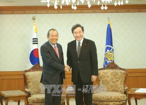 ขยายความสัมพันธ์ร่วมมือในทุกด้านระหว่างเวียดนามกับสาธารณรัฐเกาหลี - ảnh 1