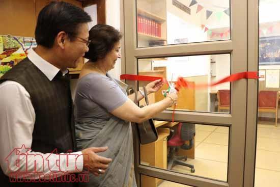 พิธีเปิดศูนย์เวียดนามศึกษา ณ ประเทศอินเดีย - ảnh 1