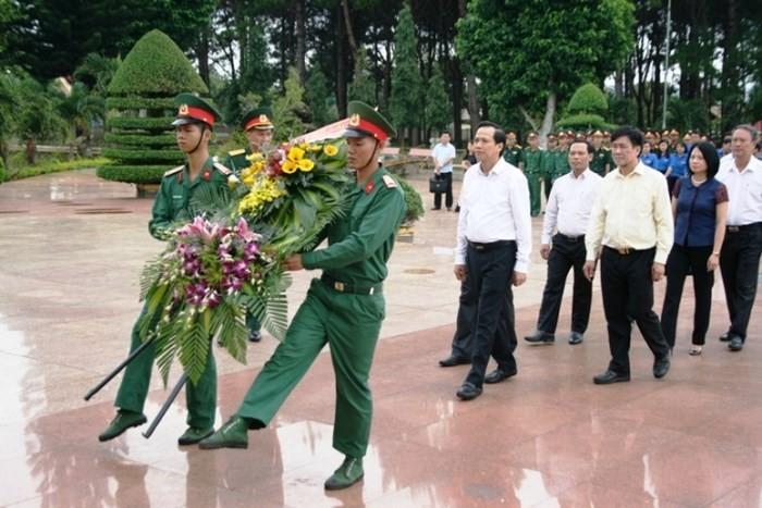 กิจกรรมต่างๆเพื่อรำลึกครบรอบ 71 ปีวันทหารทุพพลภาพ 27 กรกฎาคม - ảnh 1