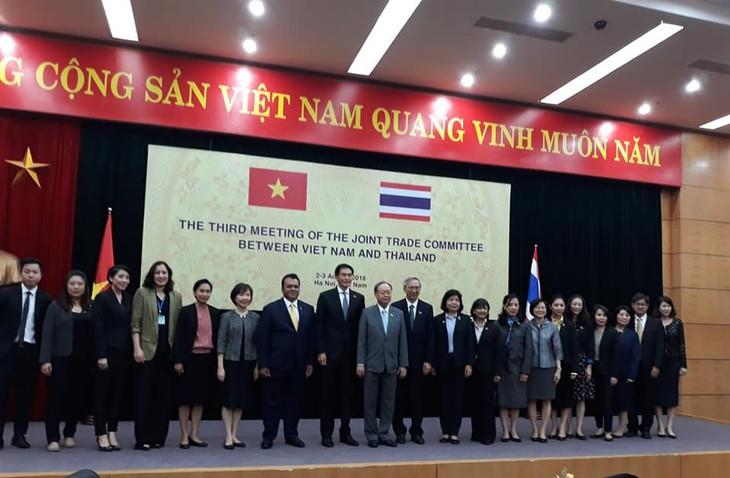 การค้าทวิภาคีเวียดนาม – ไทยมุ่งสู่เป้าหมาย2 หมื่นล้านดอลลาร์สหรัฐภายในปี 2020  - ảnh 2