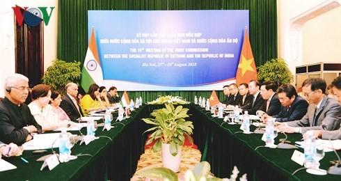 การประชุมครั้งที่ 16 คณะกรรมการผสมเวียดนาม – อินเดีย - ảnh 1