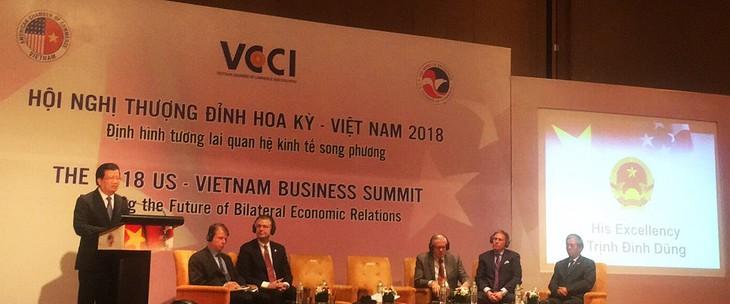 กำหนดอนาคตของความสัมพันธ์เศรษฐกิจเวียดนาม – สหรัฐปี 2018 - ảnh 1