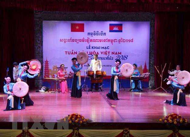 สัปดาห์วัฒนธรรมเวียดนามในกัมพูชาเต็มไปด้วยเอกลักษณ์ของประชาชาติ - ảnh 1