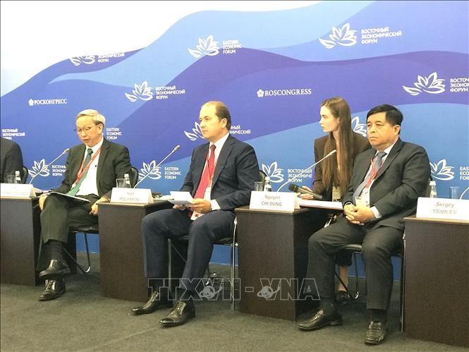 """ฟอรั่มเศรษฐกิจภูมิภาคตะวันออกครั้งที่ 4: เวียดนามเข้าร่วมการประชุม """"รัสเซีย – อาเซียน"""" - ảnh 1"""