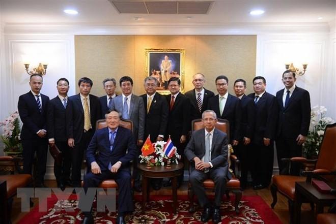 หน่วยงานศาลเวียดนามและไทยขยายความร่วมมือ - ảnh 1