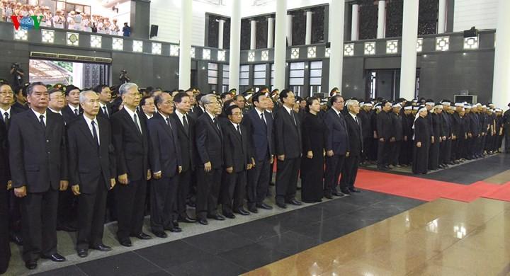 รัฐพิธีศพประธานประเทศเจิ่นด่ายกวาง - ảnh 2