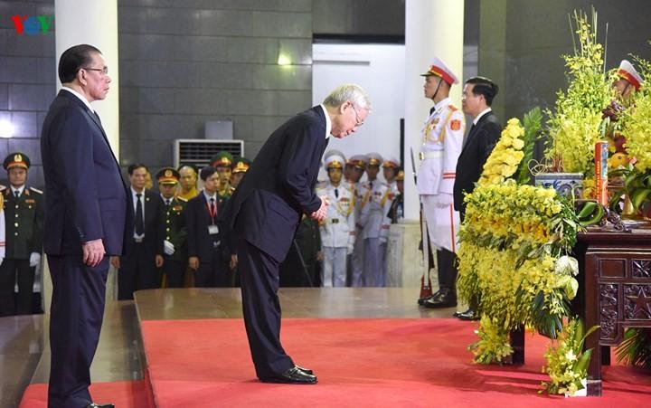 รัฐพิธีศพประธานประเทศเจิ่นด่ายกวาง - ảnh 5