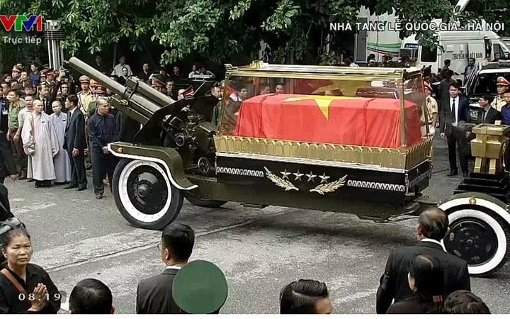 รัฐพิธีศพประธานประเทศเจิ่นด่ายกวาง - ảnh 12
