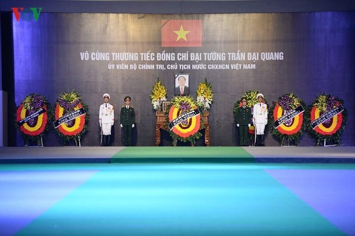 รัฐพิธีศพประธานประเทศเจิ่นด่ายกวาง - ảnh 3
