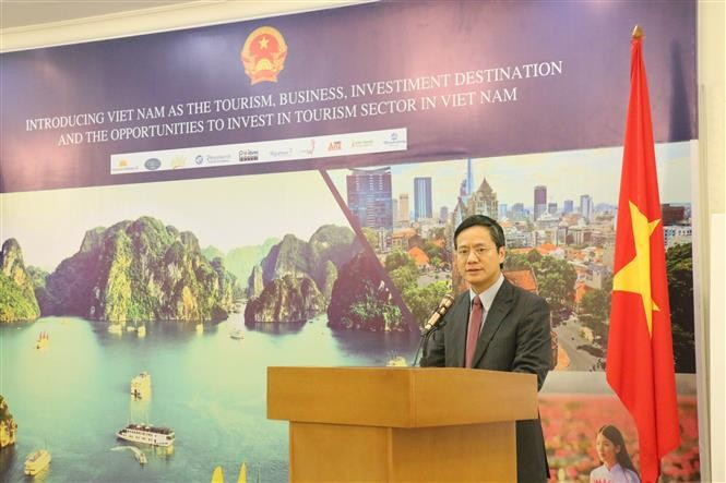 เอกอัครราชทูตฝ่ามกวางวิงห์: เวียดนามให้ความสำคัญต่อกลไกพหุภาคีระดับโลก - ảnh 1