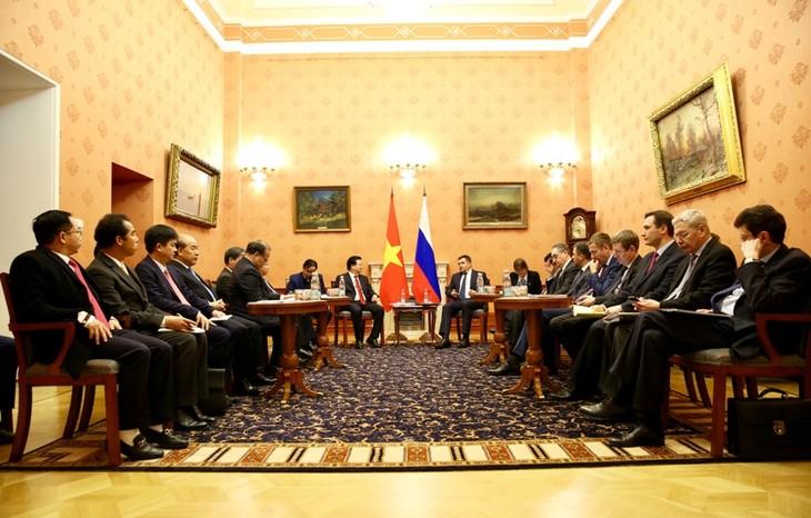 เวียดนามและรัสเซียผลักดันความร่วมมือในทุกด้าน - ảnh 1